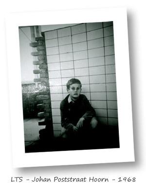 Jan Pronk in 1968 op de LTS in Hoorn