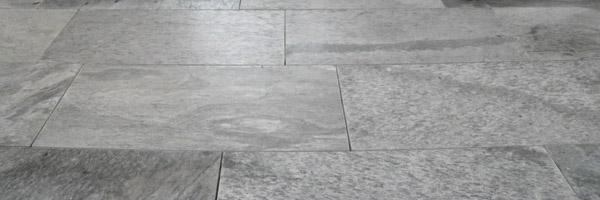 natuurstenen vloer